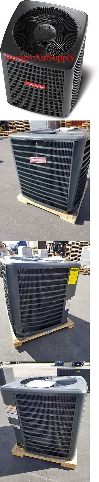 Central Air Conditioners 185108: Goodman 4 Ton 16 Seer Heat Pump