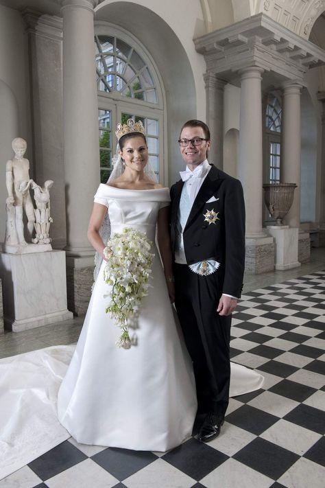 Victoria Et Daniel De Suède 19 Juin 2010 Mariage Royal