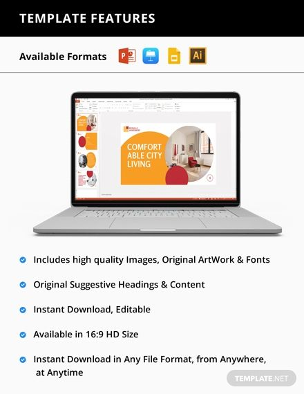 Apartment Rental Presentation Template Pdf Word Apple Pages Google Docs Powerpoint Apple Keynote Presentation Templates Rental Apartments Leaflet Template
