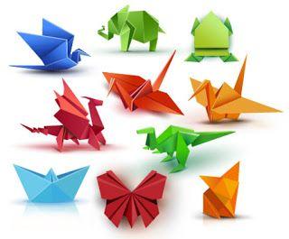 صور مطويات 2021 اشكال مطويات بالورق الملون Origami Butterfly Origami Paper Animals