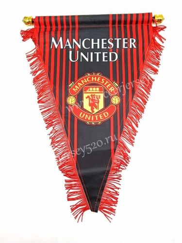 Manchester United Red Triangle Team Flag Manchester United Manchester United Team Manchester
