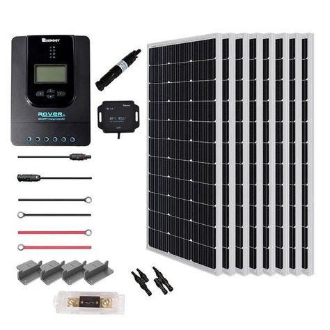 Renogy New 800 Watt 24 Volt Solar Premium Kit - RNG-KIT-PREMIUM800D-RVR40