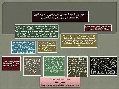 مدحت سعد الدين محمد المحامى بالنقض ماهيه جريمة خيانة الائتمان على بياض فى ضوء قانون ا Blog Blog Posts Post