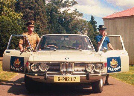 Bmw Rhodesia Zimbabwe Police Police Cars Politie Auto S