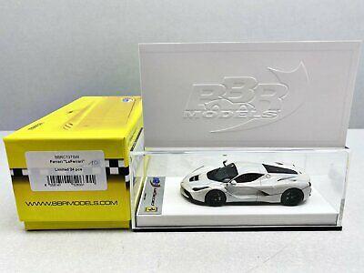 "1:43..BBR Models--BBRC137SW Ferrari /""LaFerrari/"" LIMITED Model 1 of 24 Vo 849"
