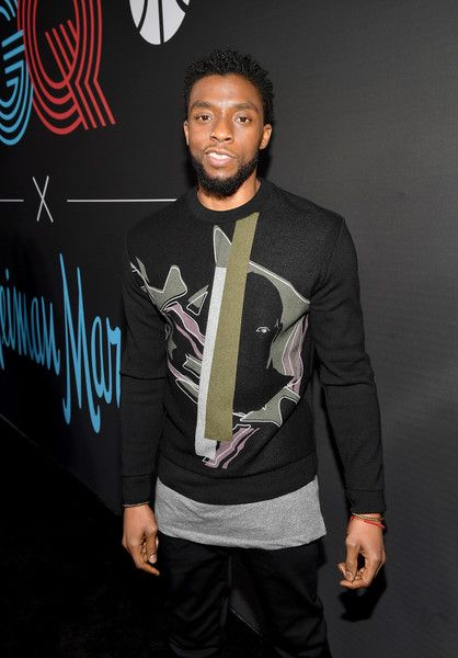 Chadwick Boseman attends the 2018 GQ All Star Party at Nomad Los Angeles.