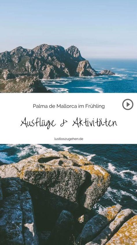 Mit zahllosen Ausflugsmöglichkeiten und unzähligen sportlichen Aktivitäten ist Mallorca die perfekte Insel für viele Reisende. Ob mit dem Fahrrad unterwegs in der Serra Tramuntana, Kitesurfen im Nordosten bei Pollenca, relaxen an Traumstränden. Warum es sich lohnt schon im Frühling die schöne Baleareninsel zu erkunden und was es zu entdecken gibt verrate ich dir. #mallorca #spanien #mallorcaurlaub  #reisetipps  #reisen #palma #tramuntana