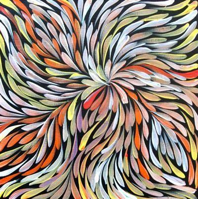 Janet Golder Kngwarreye Famous Aboriginal Artist I Saw Her Work In