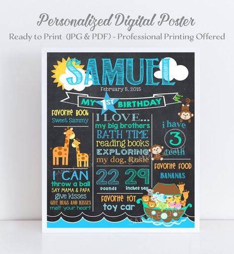 birthday quotes chalkboard poster ideas