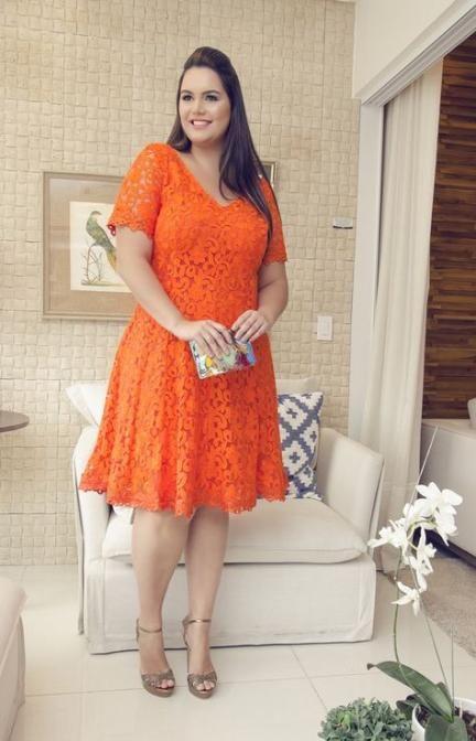 18+ Orange plus size dress ideas information