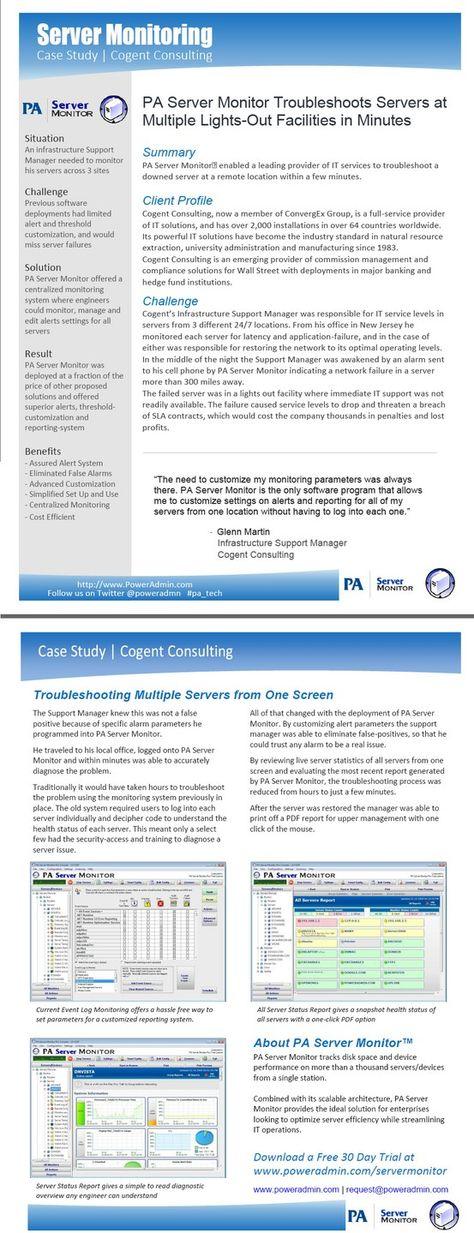 Windows Server Monitoring  Ideas For Server Monitoring Tools