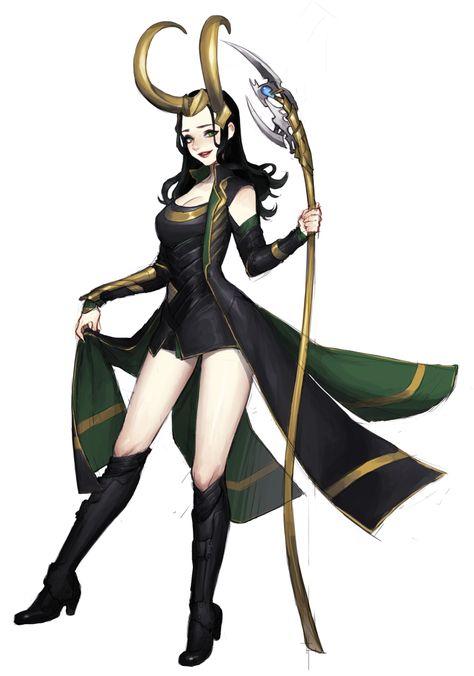 Lady Loki, holy hot DAMN.