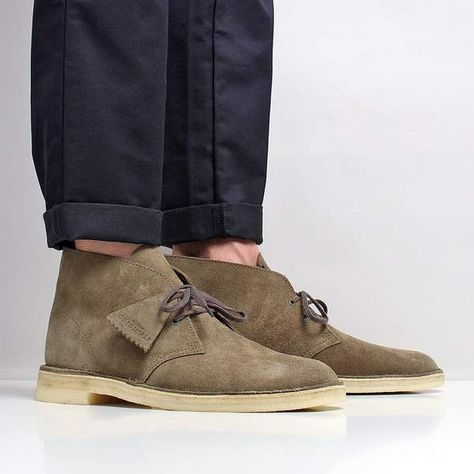 Clarks Originals Desert Boots | Details for Mens en 2019 | Mode