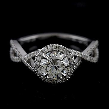 Japanese Garden Ideas And Tips Infinity Band Engagement Ring Engagement Ring Mountings 14k White Gold Engagement Rings
