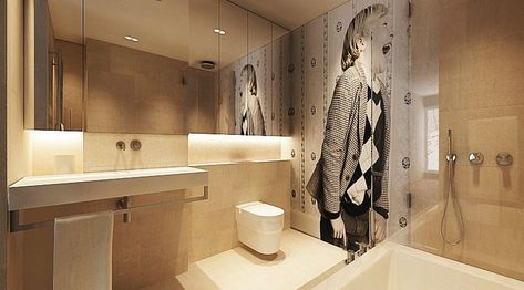 Image Gallery Website Luxury Bathroom Decor Ideas Completed With Modern and Attractive Design To Apply In It Contemporary bathroom designs Contemporary bathrooms and Bathroom