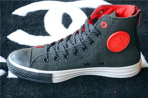 New_CONTRAST_COLOR_CT_Converse_Chuck_Taylor_All_Star_Back_Zip_High_Tops_Red_Black_Mens_Canvas_Sneakers.jpg (640×427)