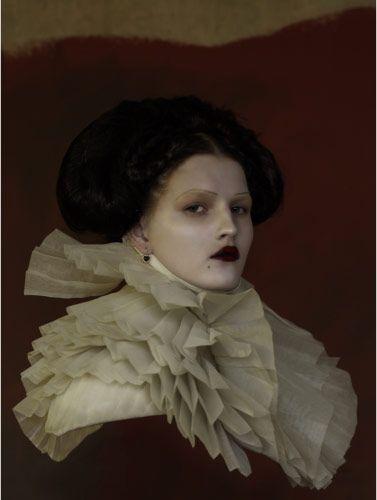 Elizabeth Ruff Collar Victorian Ruffled Collar Renaissance Neck Collar