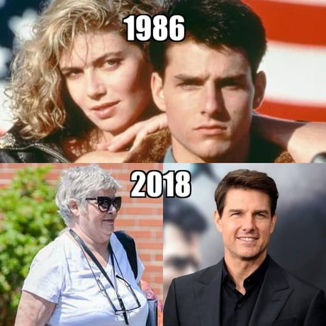 Woman Are Long Time Traps Kelly Mcgillis Humor Tom Cruise