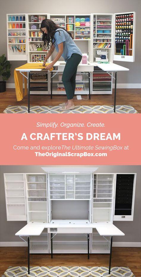 18 new Ideas craft room makeover diy storage