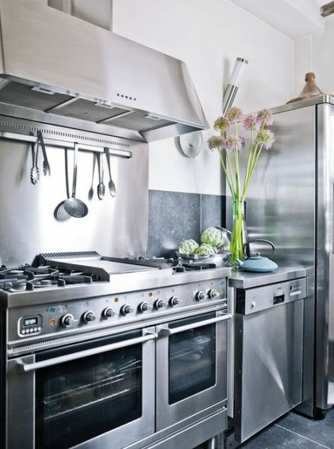 10 best Cocina industrial images on Pinterest | Kitchens, Industrial ...
