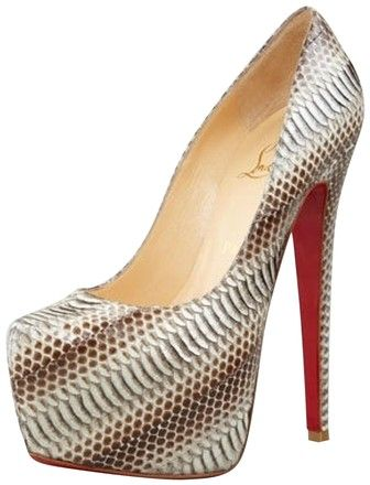 Christian Louboutin Stone Python Daffodile Pumps Platforms Size US 8.5 Regular (M, B). Get the must-have platforms of this season! These Christian Louboutin Stone Python Daffodile Pumps Platforms Size US 8.5 Regular (M, B) are a top 10 member favorite on Tradesy. Save on yours before they're sold out!