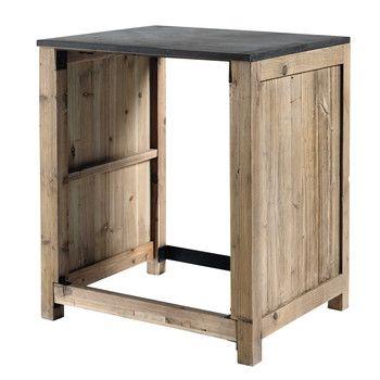 Maisons Du Monde 61 Resultats Pour Votre Recherche Cuisine Pine Kitchen Kitchen Units Kitchen Sink Units