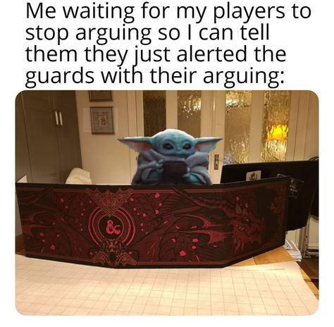 A place to post all your Dungeon and Dragons memes, funny pictures and other humorous content! Dnd Funny, Hilarious, Dnd Stories, Dungeons And Dragons Memes, Dragon Memes, Nerd Humor, Tabletop Rpg, Funny Games, Nerdy