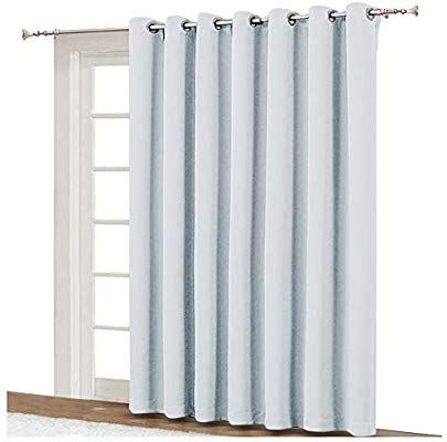 Nicetown Sliding Room Divider For Space Wide Width Thermal Drapes Absorb Noise Block Out Light Blin Drapes And Blinds Sliding Room Dividers Thermal Drapes