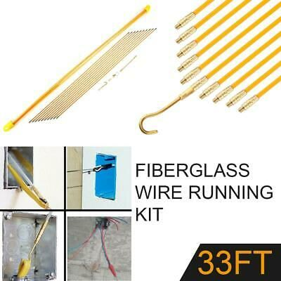 Details About 10m 4mm Fiberglass Running Wire Cable Coaxial Electrical Fish Tape Pull Push Kit Running Wires Fiberglass Electrical Tools
