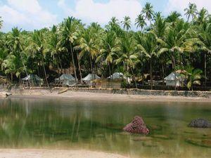The Blue Lagoon Paradise Resort Cola Beach Goa Near Agonda Resort Villa Goa Palolem Beach Huts