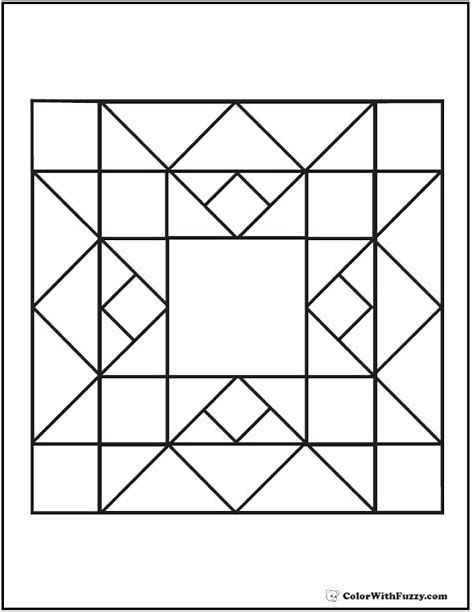 Free Printable Barn Quilt Patterns : printable, quilt, patterns, Bildergebnis, Printable, Quilt, Squares, Patterns,, Geometric, Coloring, Pages,, Designs