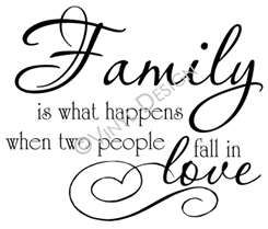 I love my little family of mine <3 | Family quotes, Wall ...