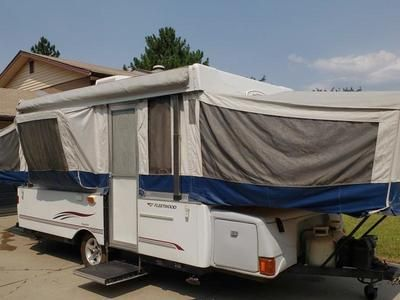 Loaded 2006 Fleetwood Bayside Pop Up Tent Trailer Tent Trailers