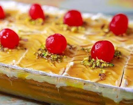 طرز تهیه کیک یخچالی قالبی با بیسکویت پتی بور Food Desserts Wool Crafts Diy