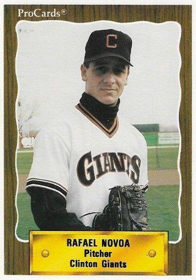 Novoa Rafael Clinton Giants Procards 2541 Baseball