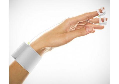 Massaging touch finger vibrator
