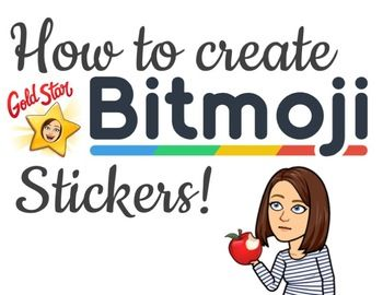How to create BITMOJI STICKERS | ELA | Bitmoji stickers