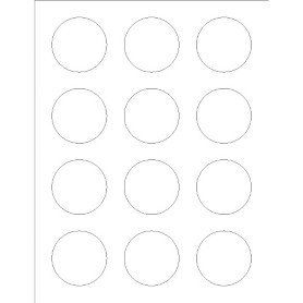 Avery 2 Round Label Template Templates Round Labels Foil 12 Per Sheet Adobe Circle Labels Avery Labels Round Labels