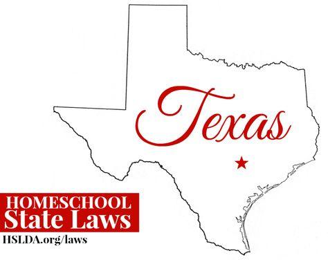 TEXAS Homeschool State Laws | HSLDA