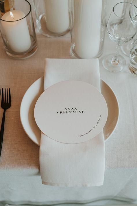 Table Setting Inspiration // When it comes to colour palettes, simplicity often creates bigger statements #wedding #weddingcatering #weddingideas #catering #weddinginspiration #caterer #foodie #foodporn #weddinginspo #weddingphotography #food #eventprofs #weddingphotographer #weddings #santabarbaracatering #itsallaboutthefood #santabarbara #santaynez #fooddesign #weddingplanning #delicious #thatsdarling #weddingcaterer #sloweddingvendors #sanluisobispo #sanluisobispowedding