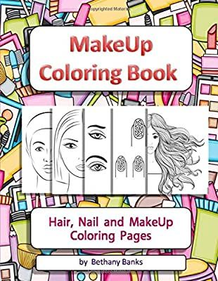 How To Draw Dressing Room For Kids With Colored Marker Makeup Coloring Book For Kids