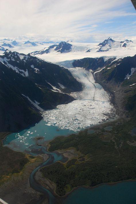 Pederson Glacier - Kenai Fjords National Park