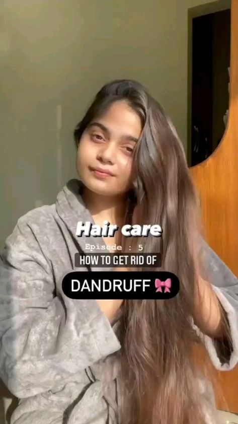 Hair Care from Dandruff👧