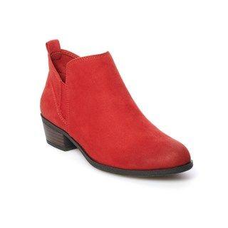 SO® Pear Women's Ankle Boots | Kohls in