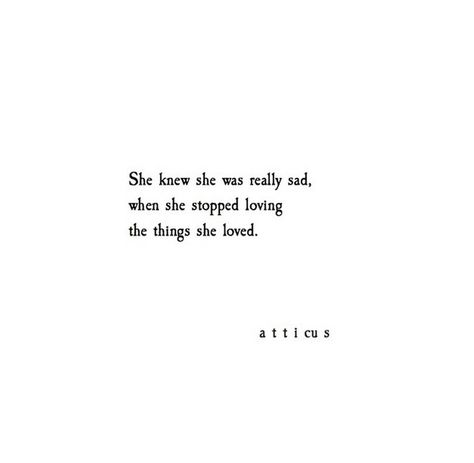'The Things They Love' @atticuspoetry #atticuspoetry