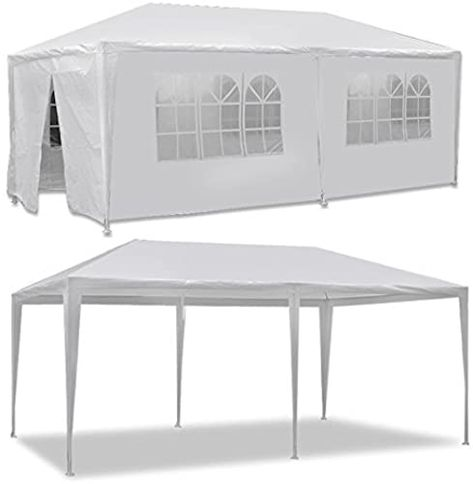 Shop For Smartxchoices 10 X 20 Outdoor White Waterproof Gazebo Canopy Tent Removable Sidewalls Windows Tent Party Wedding Events Beach Bbq Online Canopy Tent Waterproof Gazebo Gazebo Canopy