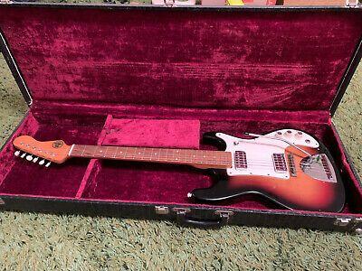 Vintage 1964 Kapa Model Challenger Electric Guitar W Original Case Hofner Ebay In 2020 Electric Guitar Vintage Electric Guitars Electric Guitar Case