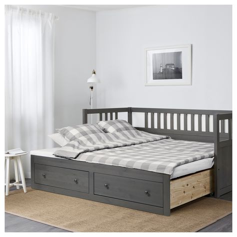 Furniture Ikea Hemmes Day Bed With 3 Drawers White