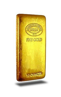 10 Ounce Johnson Matthey 9999 Fine Gold Bar In 2020 Gold Bullion Bars Gold Coins For Sale Gold Bullion Coins