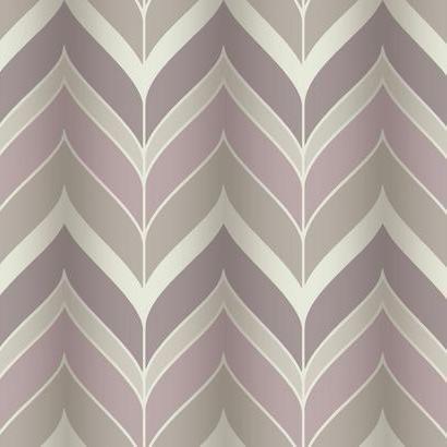 Gatsby Wallpaper In Pink Purple And Silvery Grey Design By York Wallcoverings Herringbone Wallpaper Wall Coverings Transitional Wallpaper